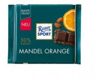 Rittersport Mandel Orange 100g