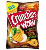 Crunchips Wow Jalapeno Cheese Cream 110g