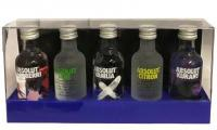 Absolut Five Hard Pack 25cl Vol 40%