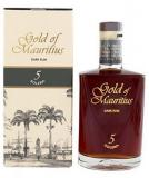 Gold Of Mauritius 5 Years Solera Rum + Gb 70cl Vol 40%