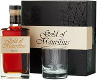 Gold Of Mauritius Dark Rum +Verre 70cl Vol 40%