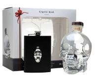 Crystal Head Vodka + Gb + Flachmann 70cl Vol 40%