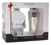 Crystal Head Vodka + Gb + Shaker 70cl Vol 40%
