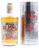 Six Saints Rum + Metal Box 70cl Vol 41.7%