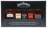 Jack Daniels Family Of Brands 25cl Vol 39%